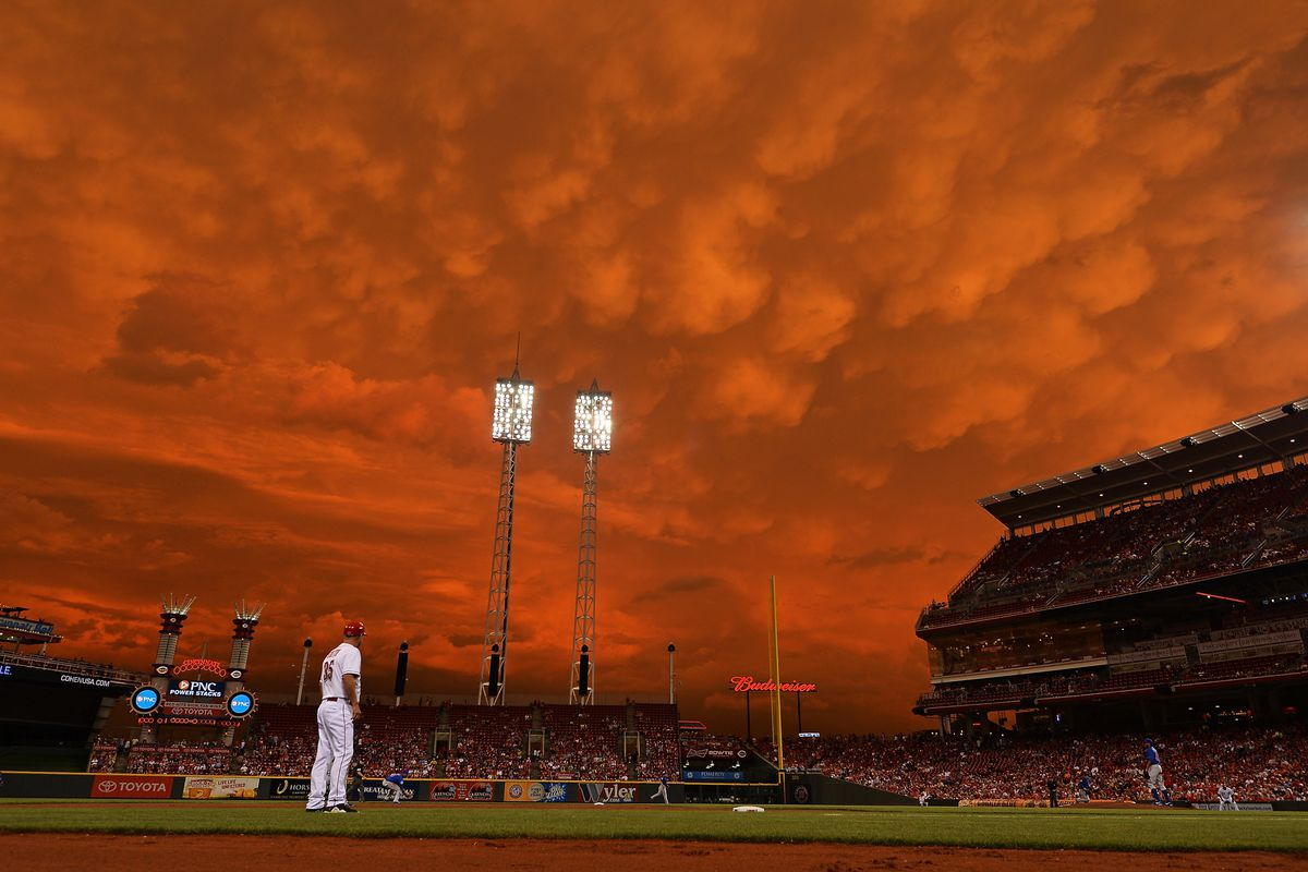 One of the most awesome photos of a ballpark I have ever seen