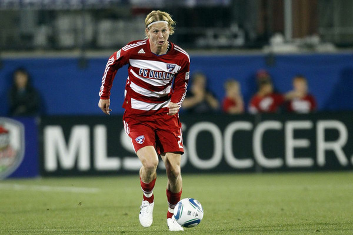 Remember that this guy, his funky hair, and some other good young MLS players are absent due to Olympic Qualifying (Photo by Layne Murdoch/Getty Images)
