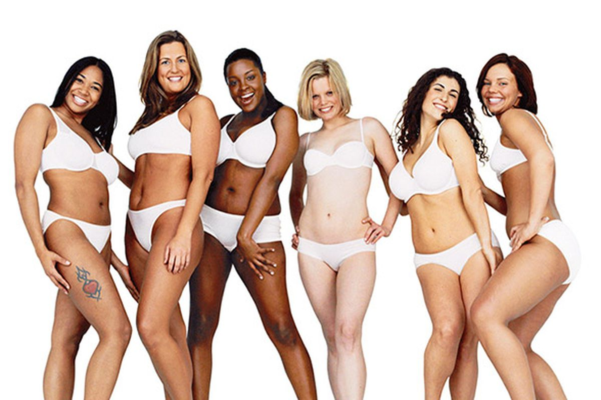 Love your bodies, ladies. Also, buy some lotion.