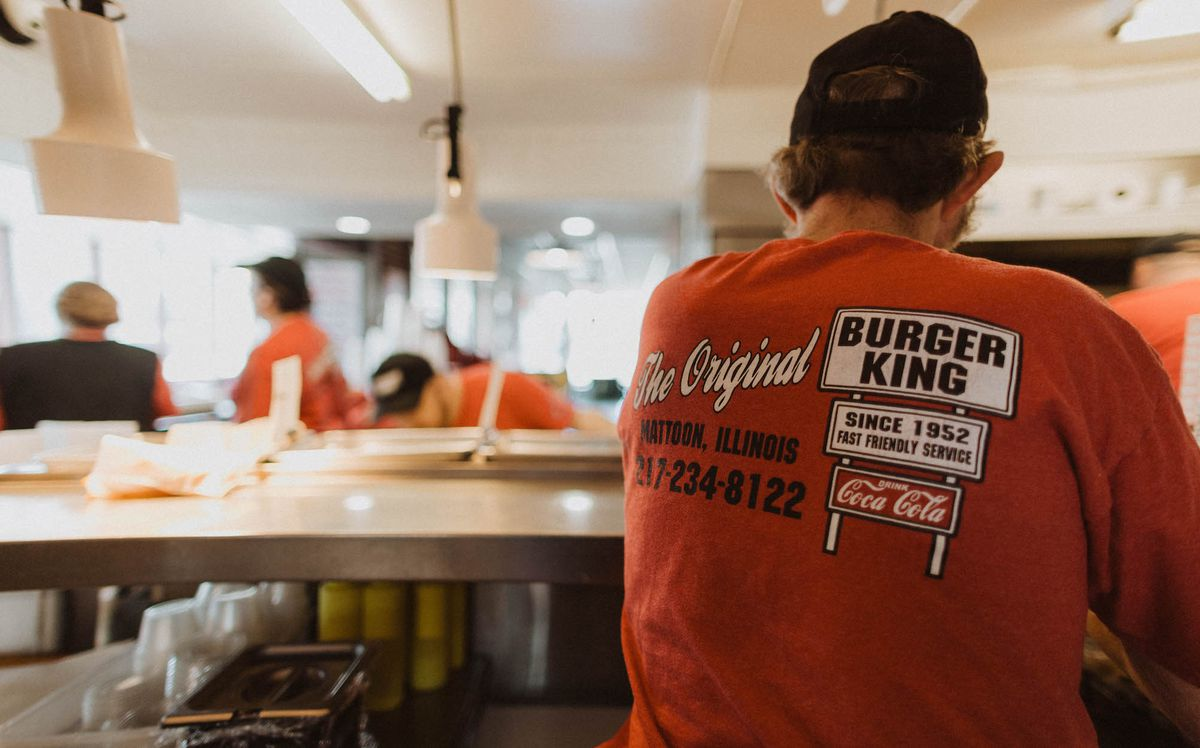 9467d89c5c The courts ruled that the trademark was valid, preventing any corporate  Burger Kings to be built within a 20-mile radius of 1508 Charleston Avenue  in ...