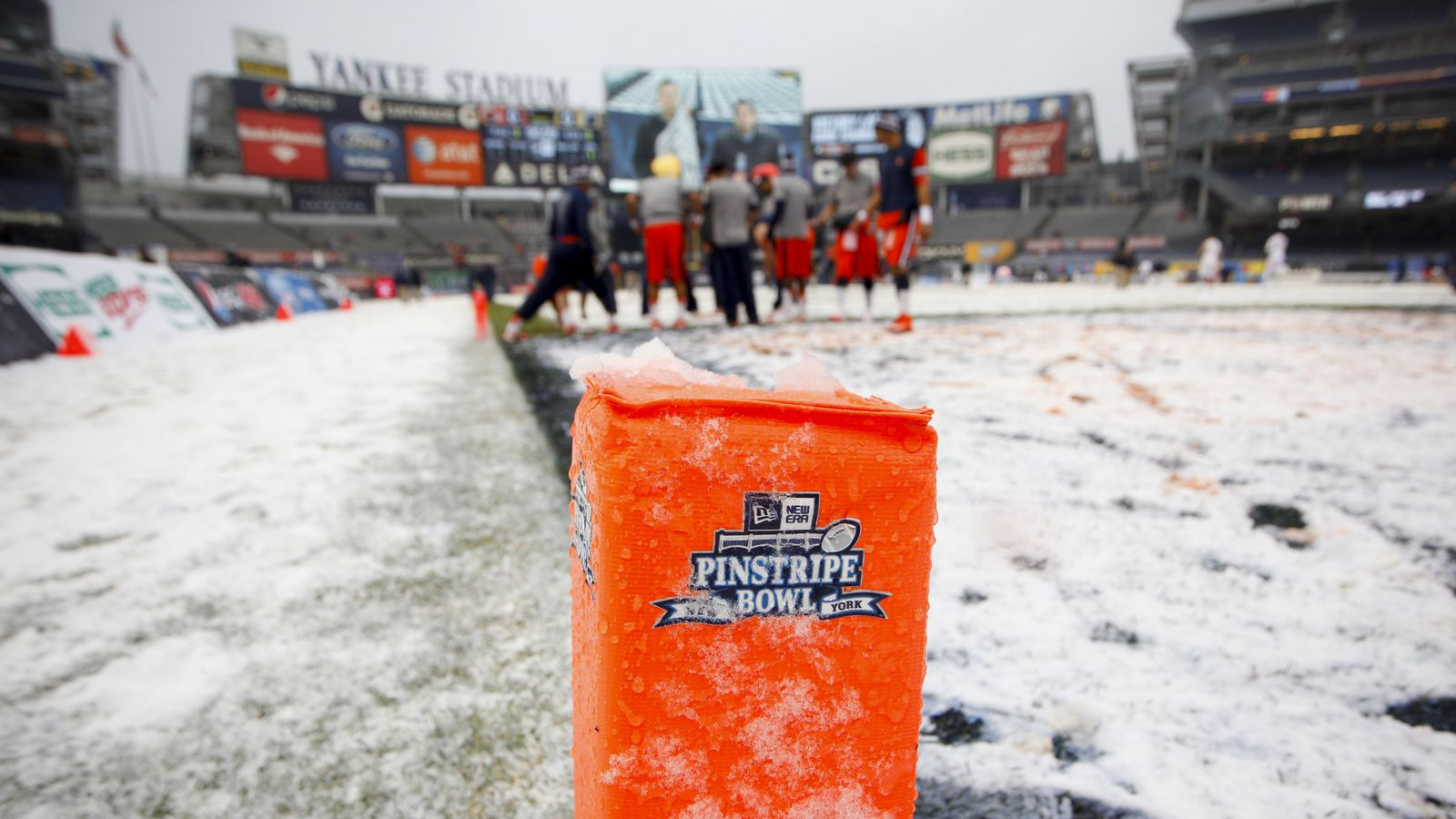 B1G Agreement with Yankees for the Pinstripe Bowl
