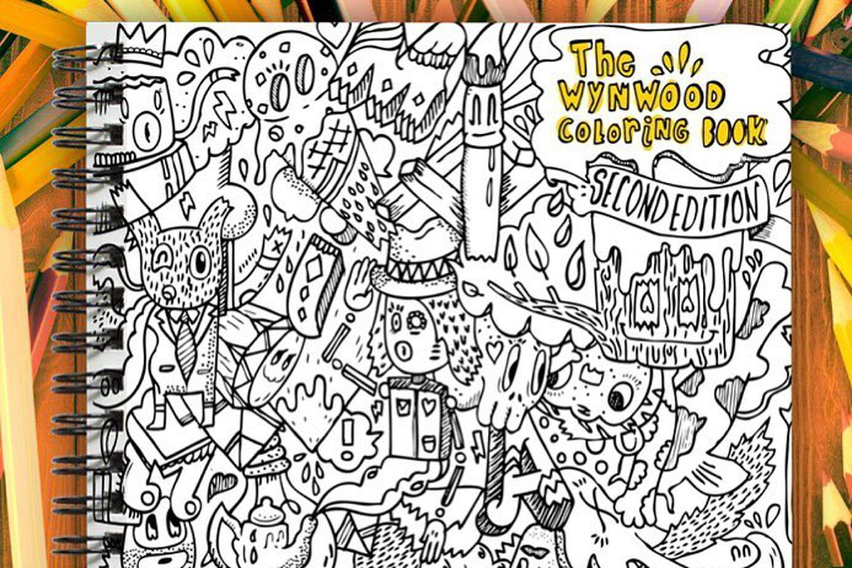 The artist behind a Wynwood graffiti coloring book is ...
