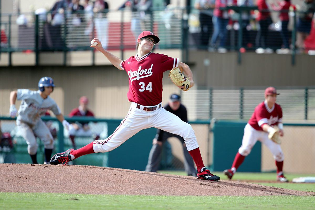 Freshman Tristan Beck flashed serious stuff in his college debut against Cal State Fullerton