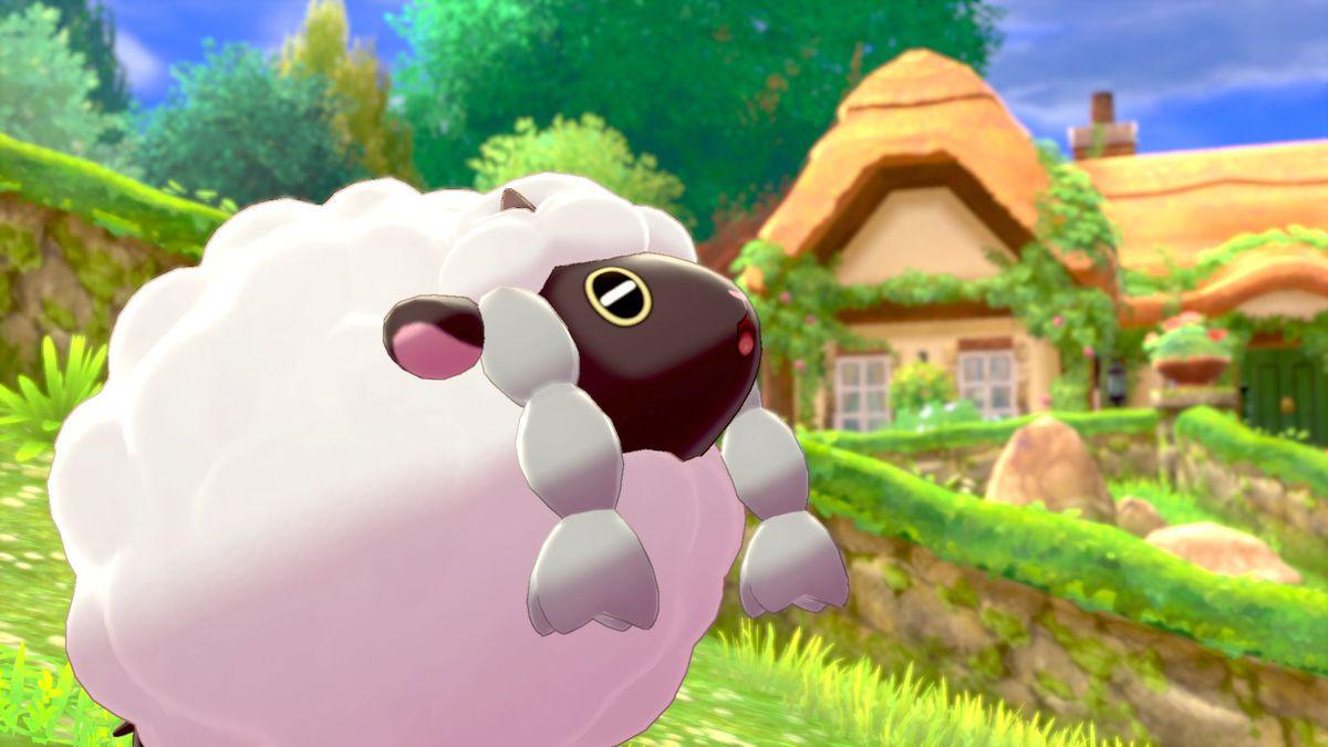 Wooloo as it appears in Pokemon Sword/Shield