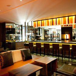 Lounge and bar area