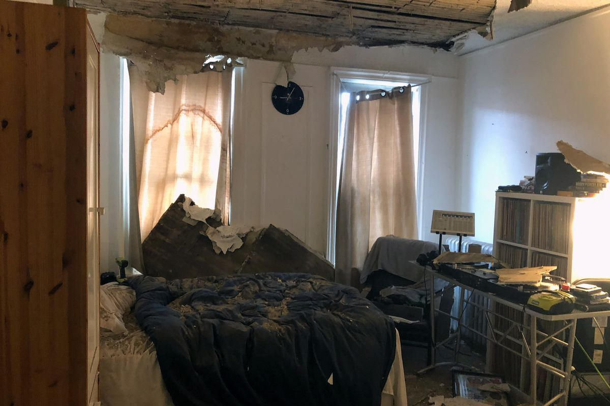 Jason Torres' bedroom in his Bronx apartment on Aug. 1 2018.