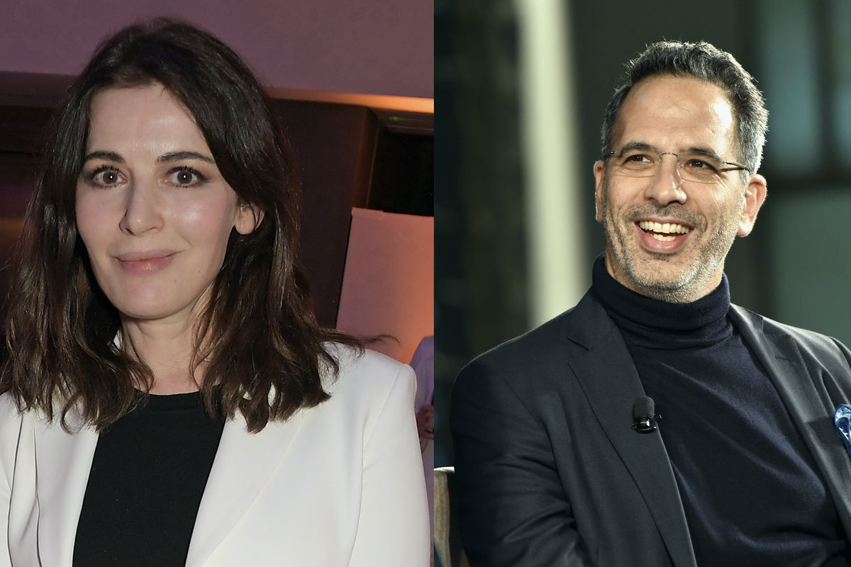 Nigella Lawson and Yotam Ottolenghi side-by-side in a composite photo