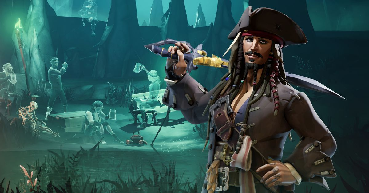 Sea of Thieves' Jack Sparrow crossover is a Rare treat