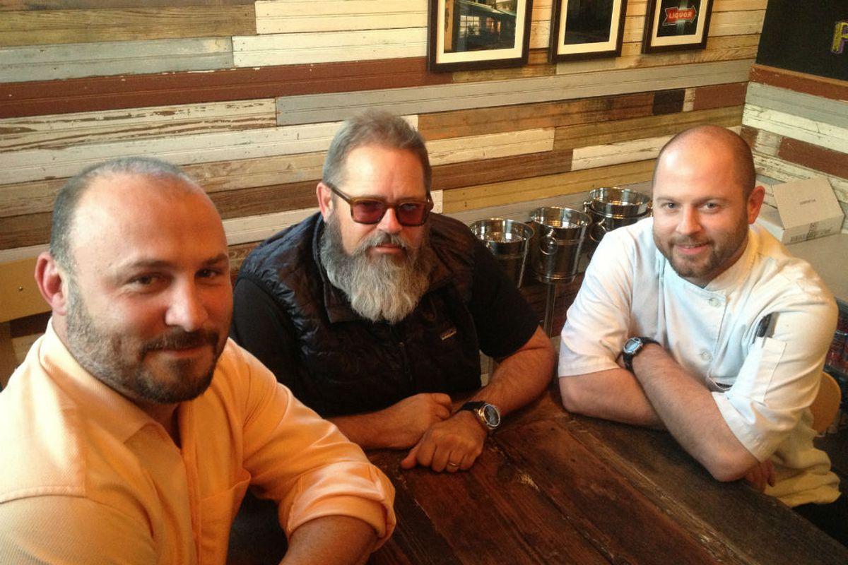 Lance Fegen Lee Ellis And Travis Lenig Of Liberty Kitchen