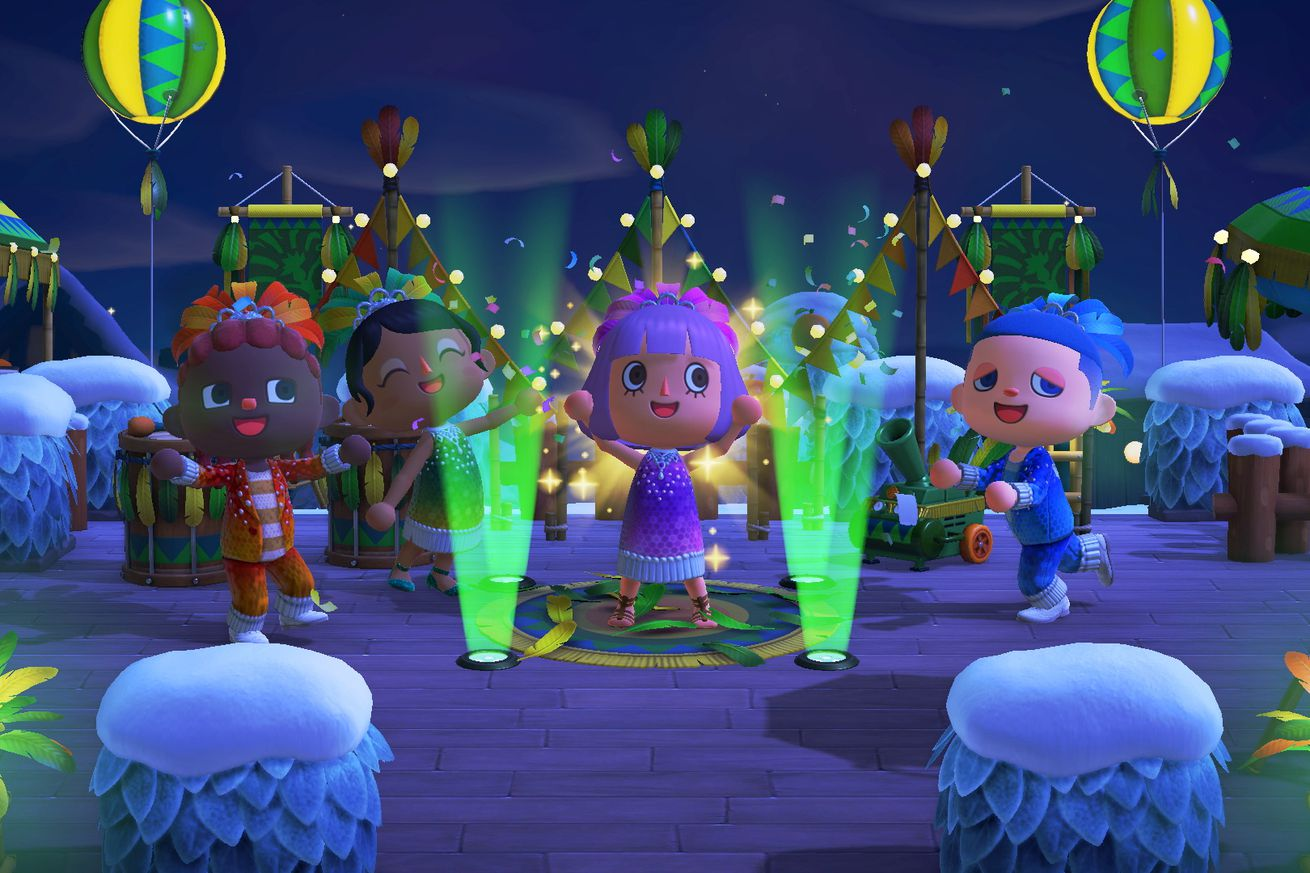 Animal Crossing: New Horizons' next big event is a carnival