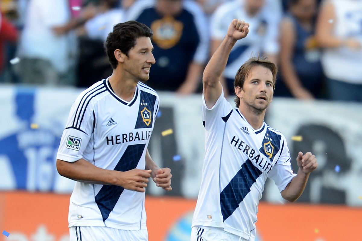 Omar Gonzales with be with the USA national team, but Mike Magee has been in good form for the Galaxy