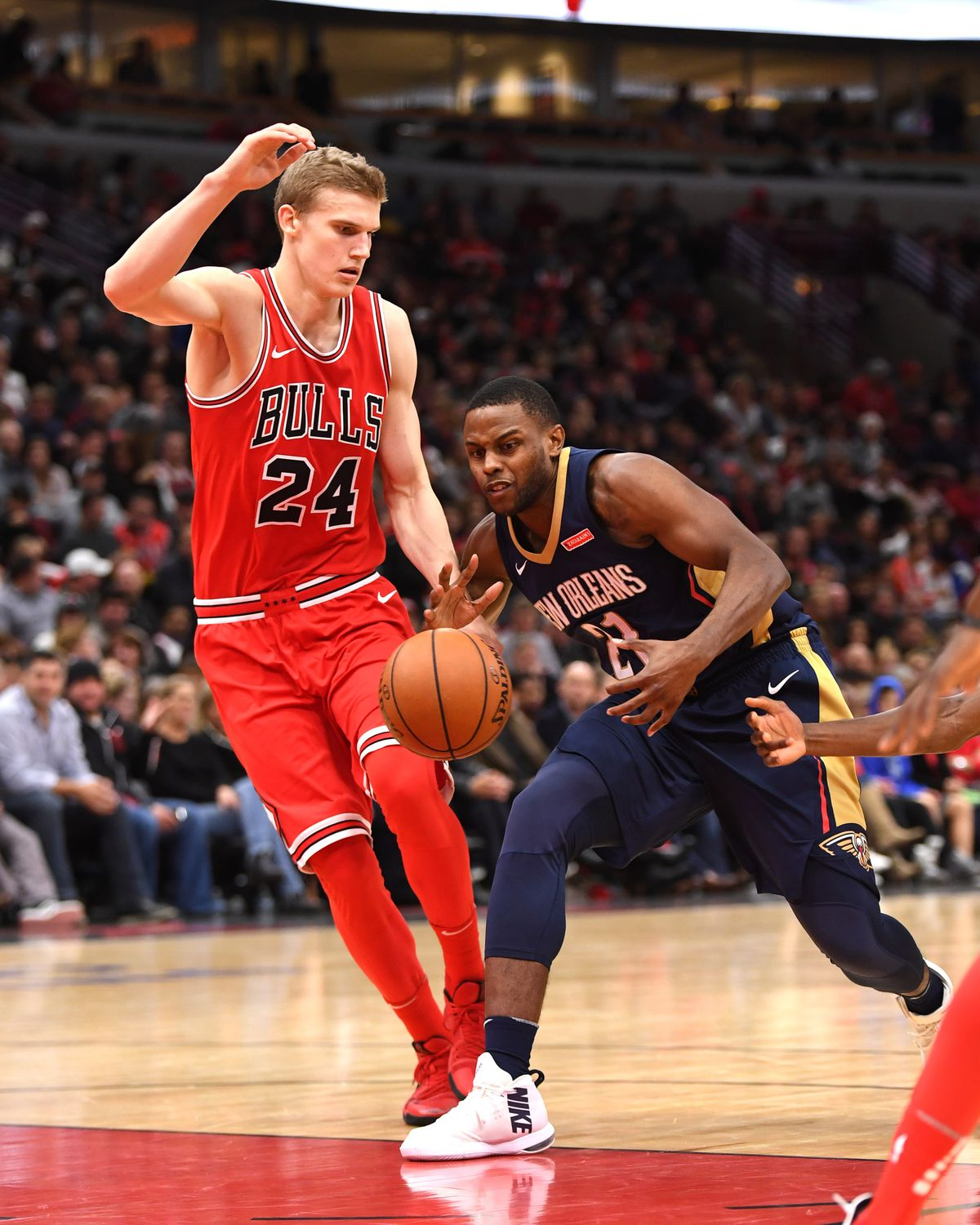 NBA: New Orleans Pelicans at Chicago Bulls