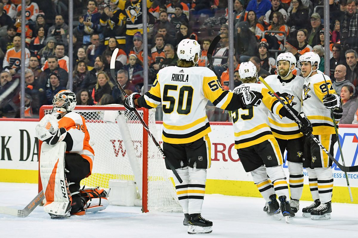 ed96bbc4 Penguins 4, Flyers 1: Way to win one, the refs - Broad Street Hockey