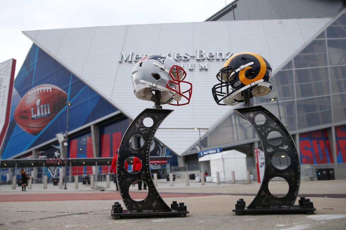 usa today 12102854.0 - Super Bowl LIII pregame coverage