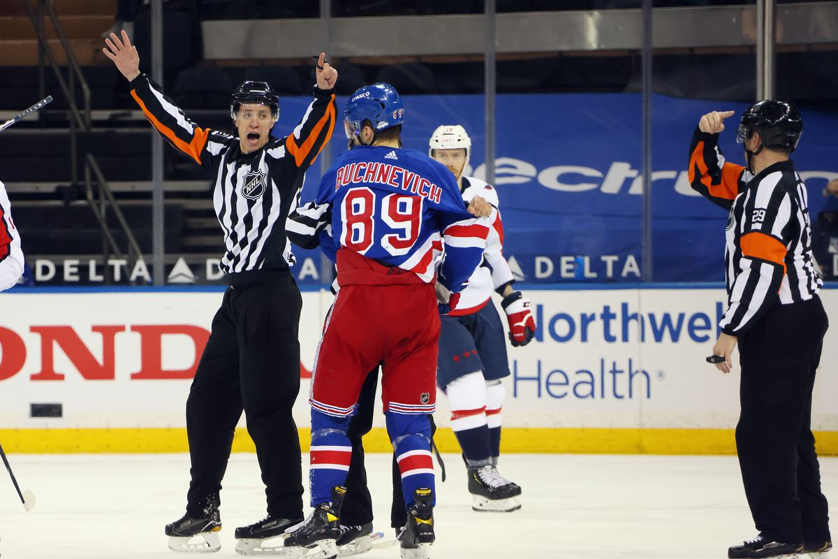 NHL: Washington Capitals at New York Rangers