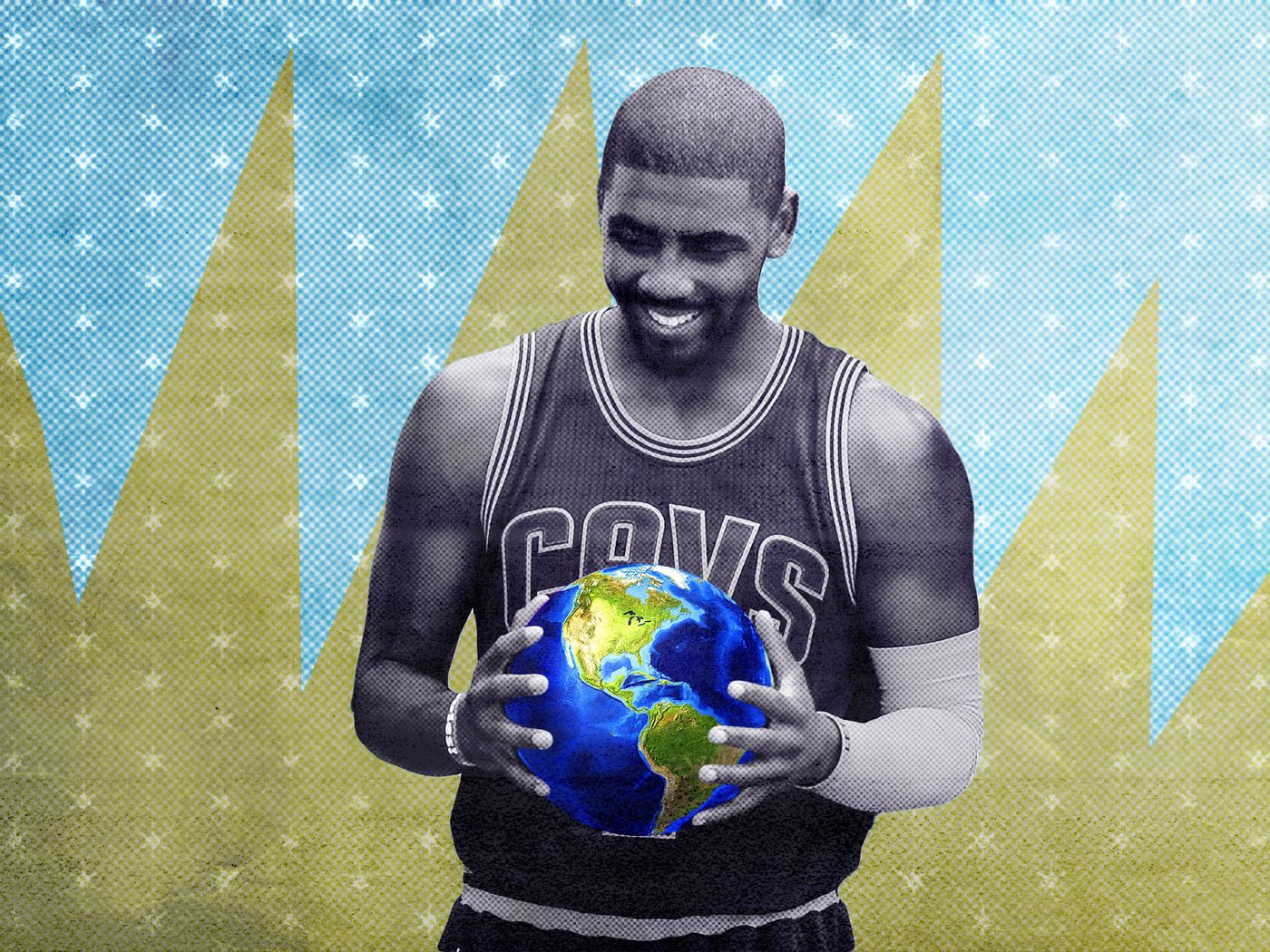Kyries Got The Whole Flat Earth In His Hands