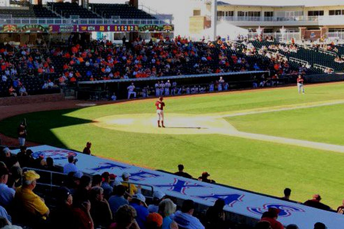 More baseball today in Surprise for Oregon State!
