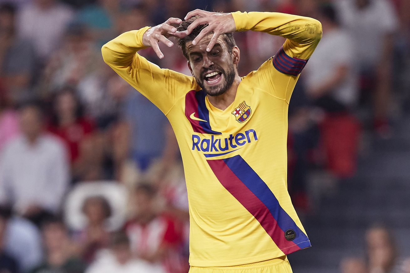 Pique: Athletic defeat will be good for Barcelona
