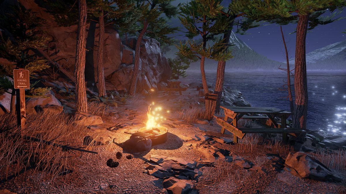 Obduction campfire screenshot 1920