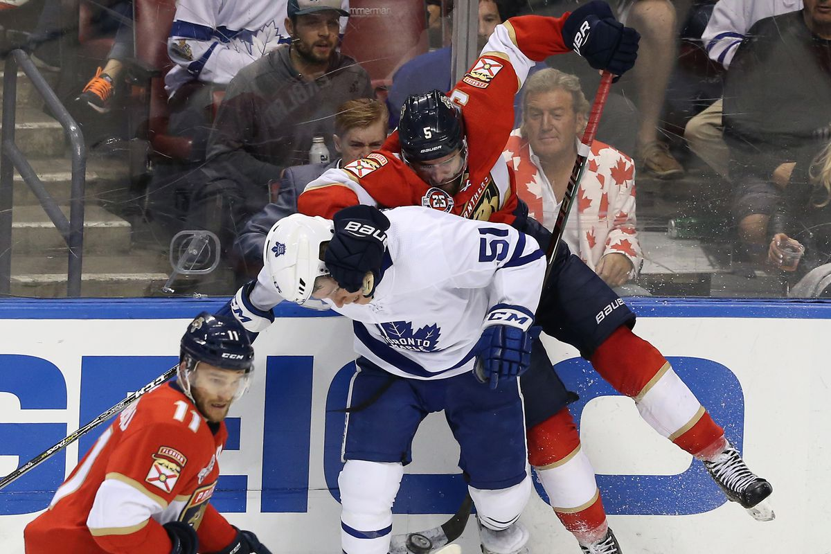 4063c58ef3a GameDay Caterwaul  Florida Panthers vs Toronto Maple Leafs - Litter ...