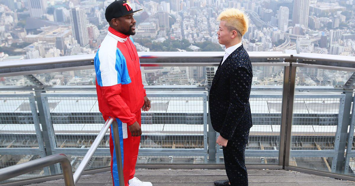 Tenshin Nasukawa fires back at Conor McGregor on Floyd Mayweather match