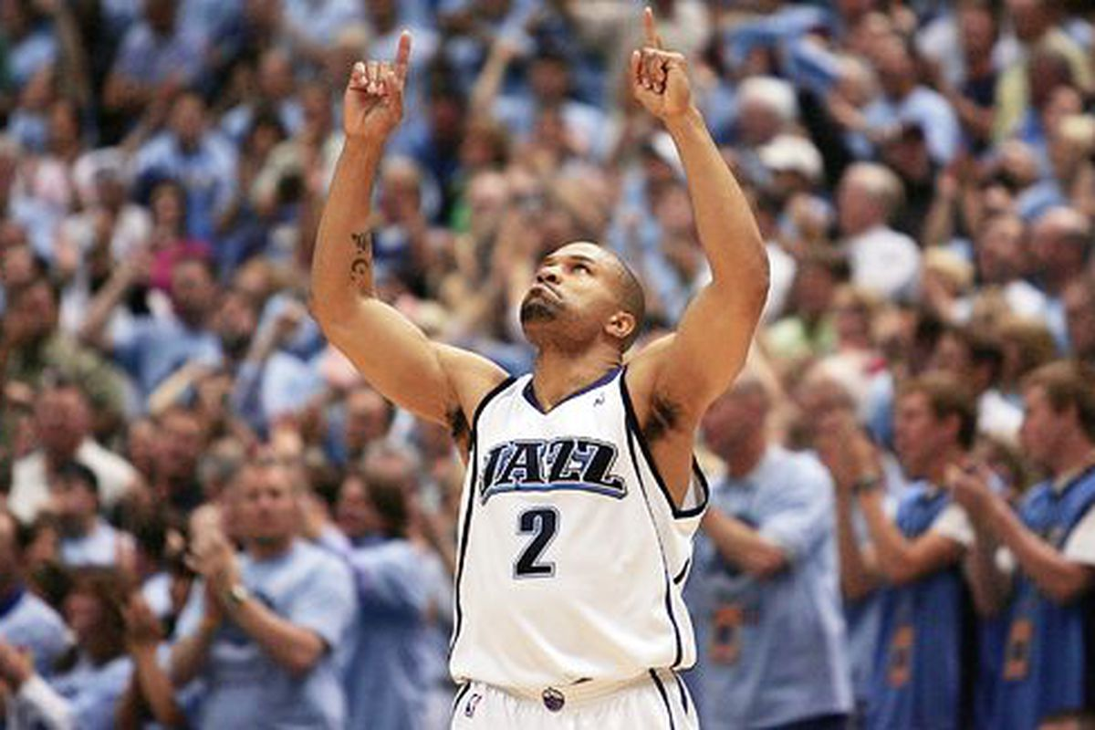 Utah Jazz History We love Randy Foye we hate Derek Fisher and
