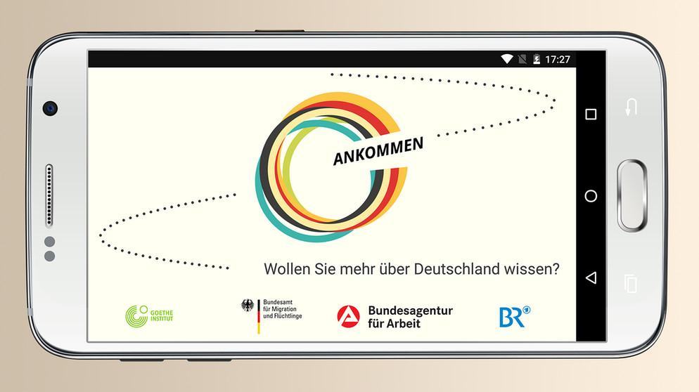 germany refugee app