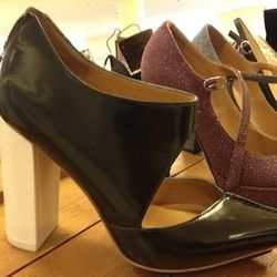 3.1 Phillip Lim: Originally $550, now $219. Available in oxblood with cream heel or black with cream heel.