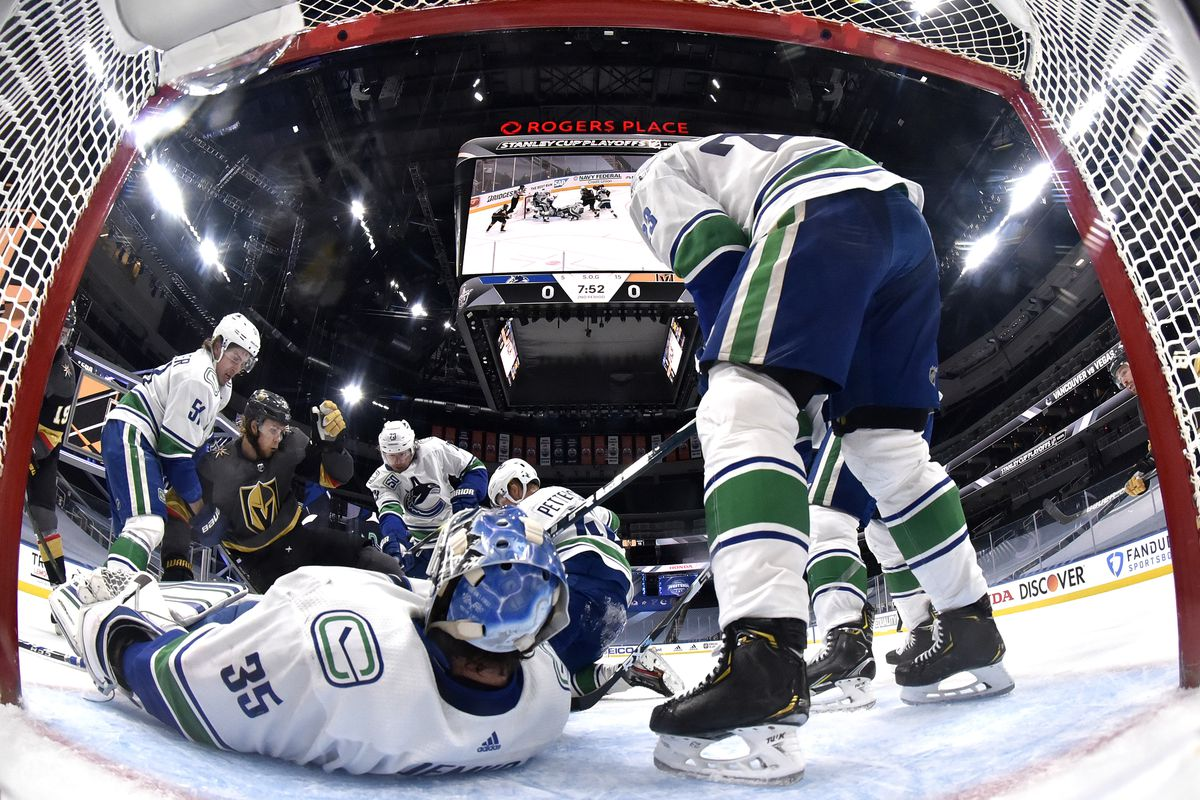 Vancouver Canucks v Vegas Golden Knights - Game Seven