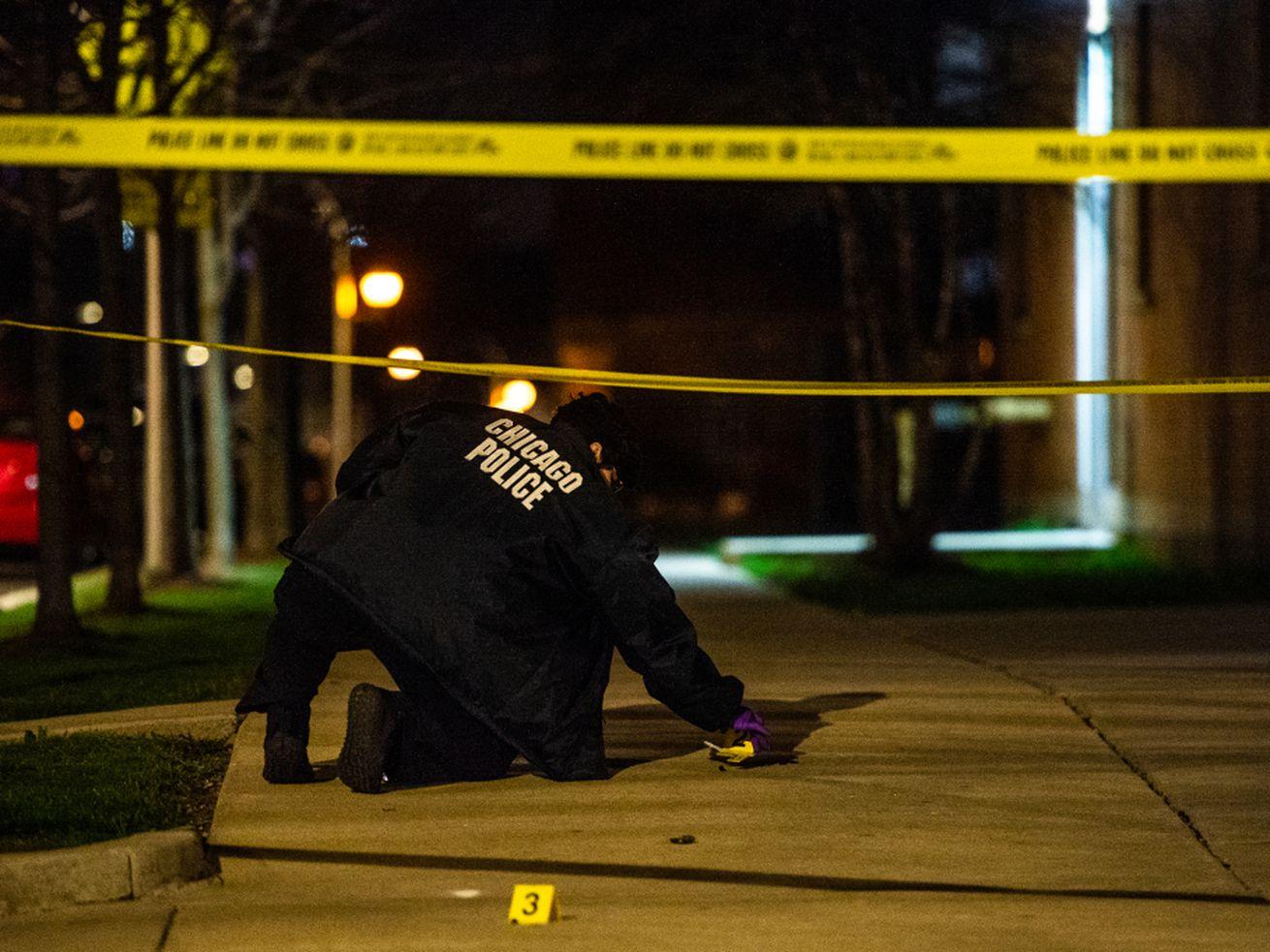Three men were shot May 14, 2021 in Lawndale.