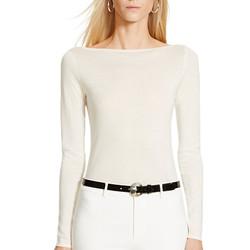 """Cashmere and silk top, $109 (was $365) <a href="""" http://www.ralphlauren.com/home/index.jsp?ab=global_logo"""">Ralph Lauren</a>"""