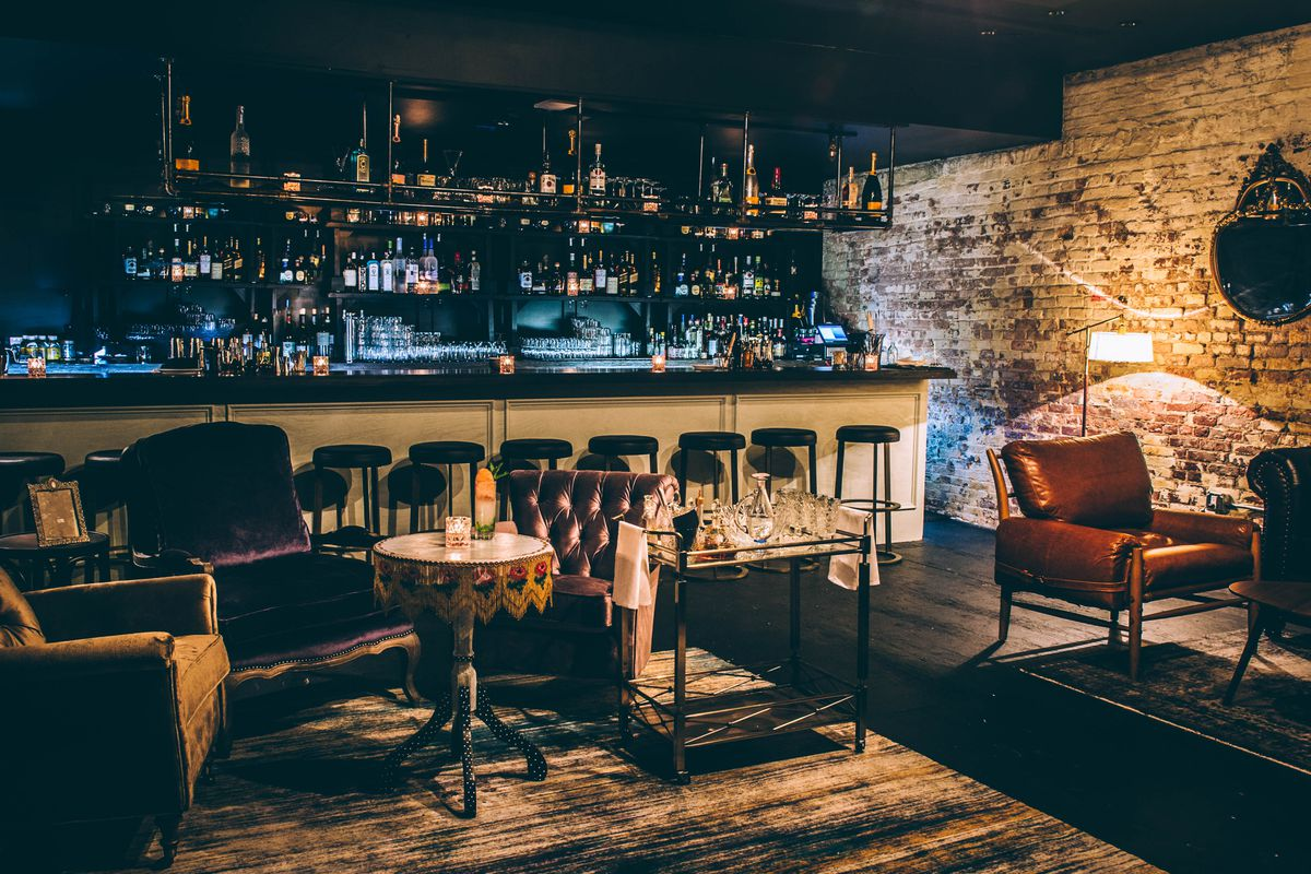 Seaport Rebrand Launches Not So Secret Speakeasy Eater Ny