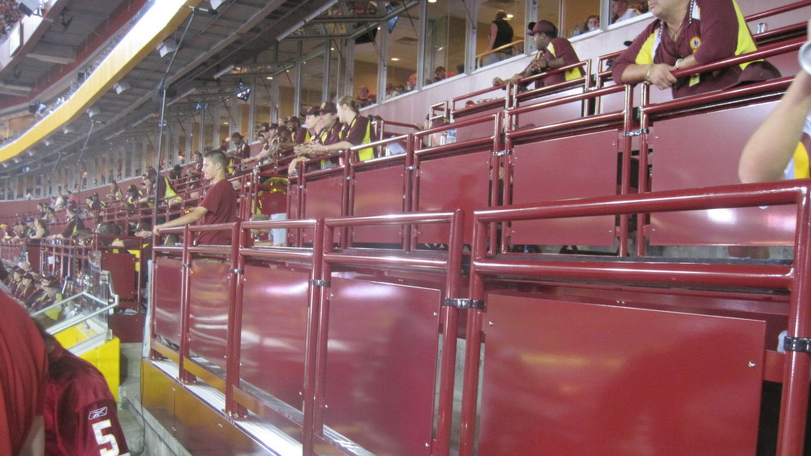 The Official Rules For Fedex Field Standing Room Only