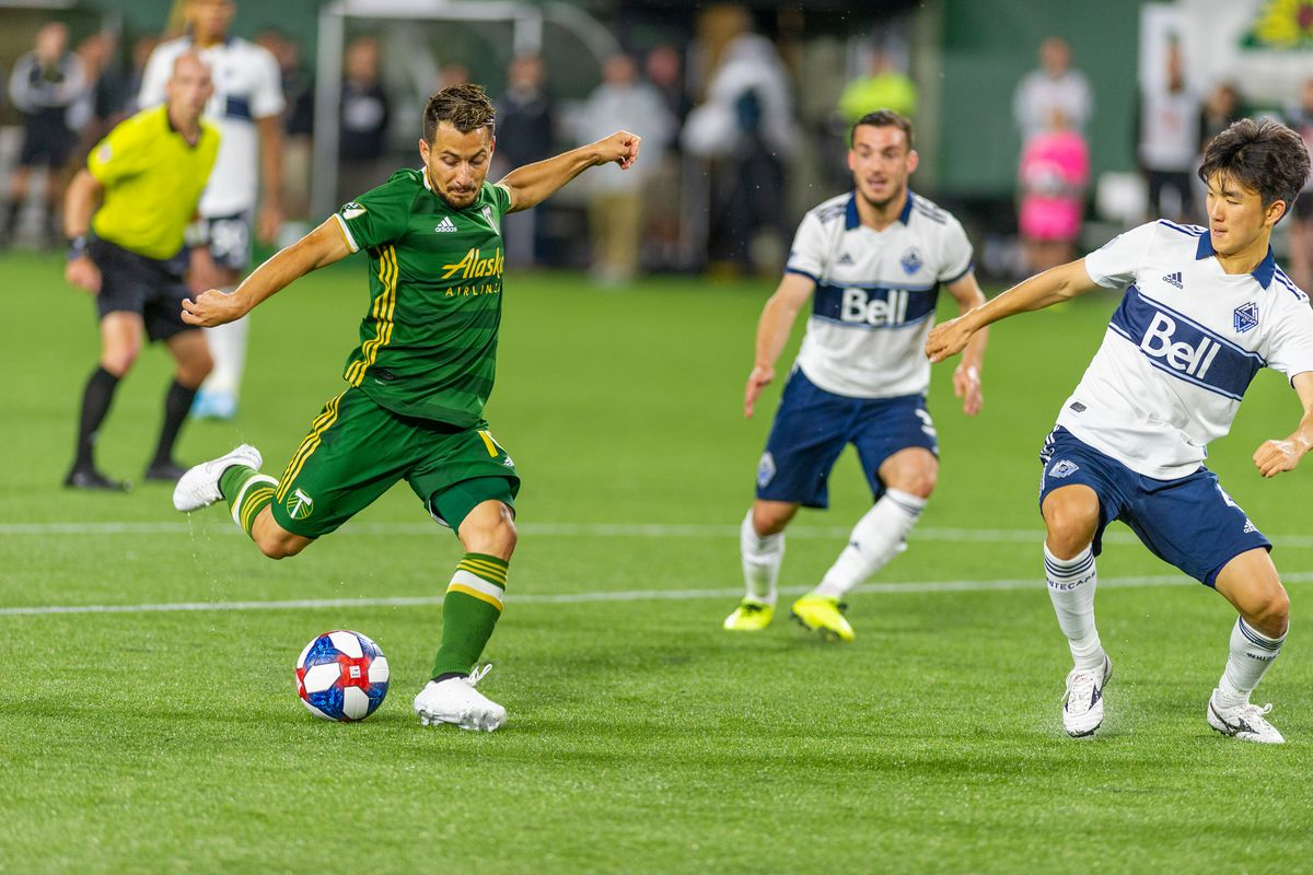 SOCCER: AUG 10 MLS - Vancouver Whitecaps at Portland Timbers
