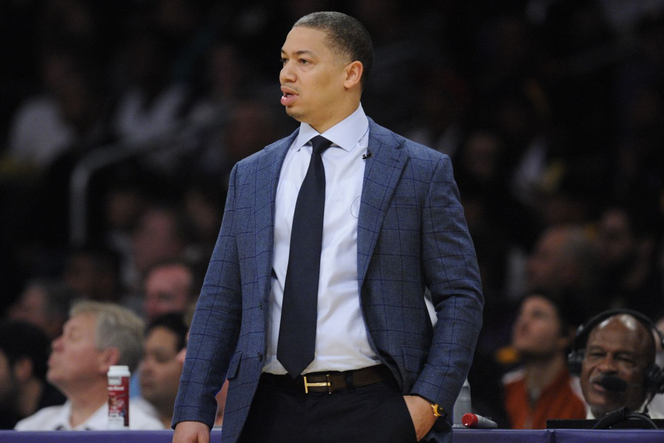 Tyronn Lue says he was shocked and a little hurt but he respects LeBrons decision