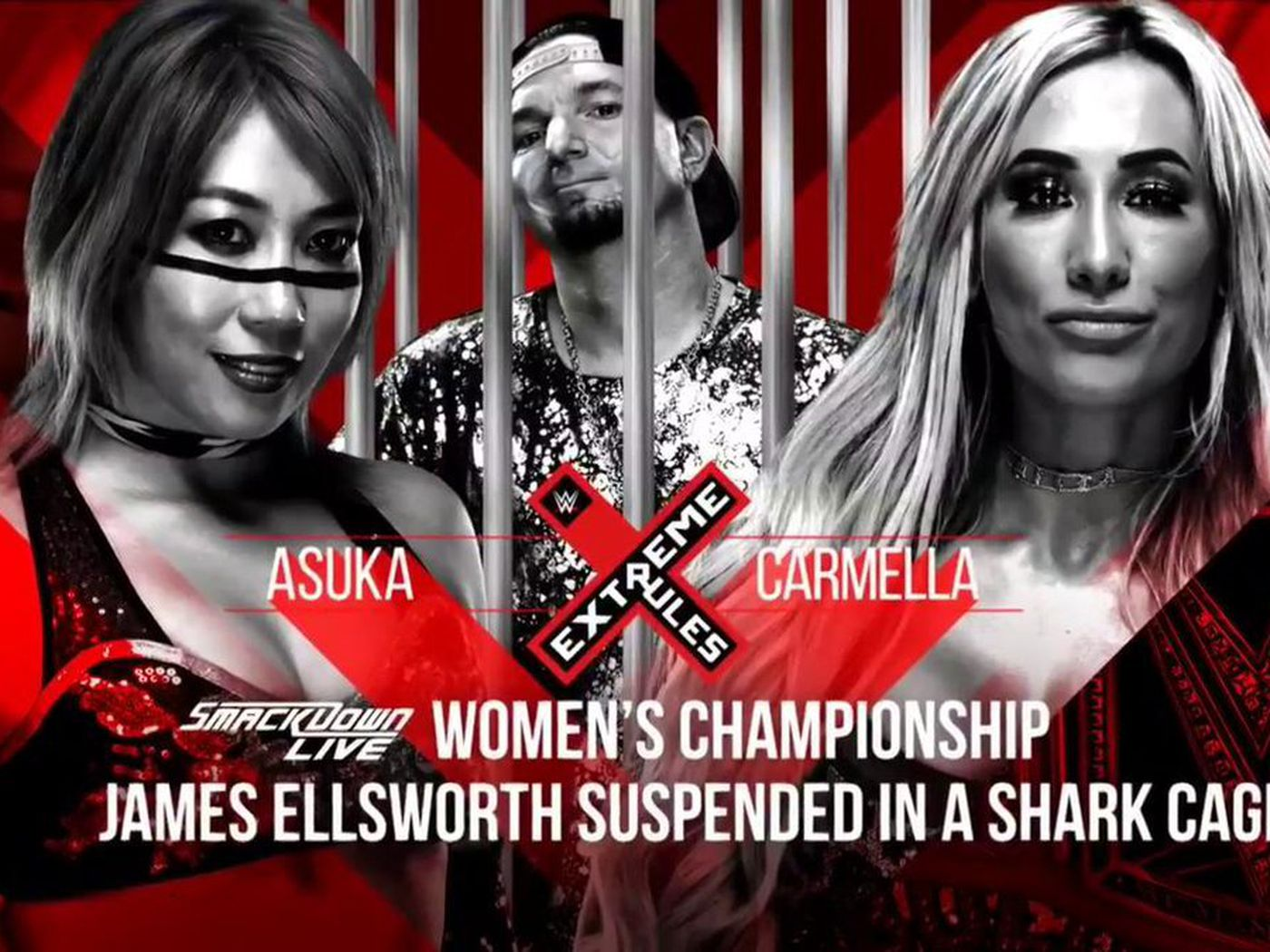 James Ellsworth Will Be Trapped In A Shark Cage At Extreme Rules