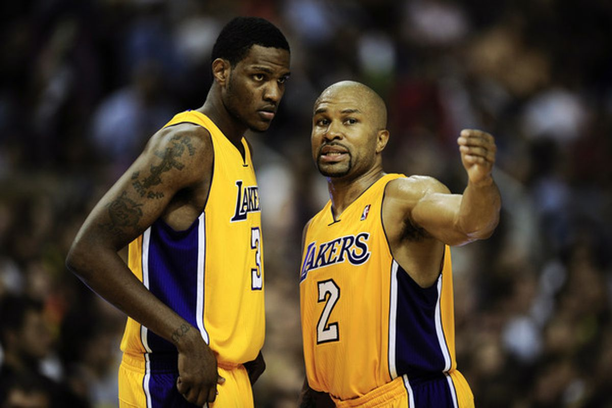 Yes, the Thunder could potentially have two of the Lakers' back court players from last year. No, neither of them are named Kobe.