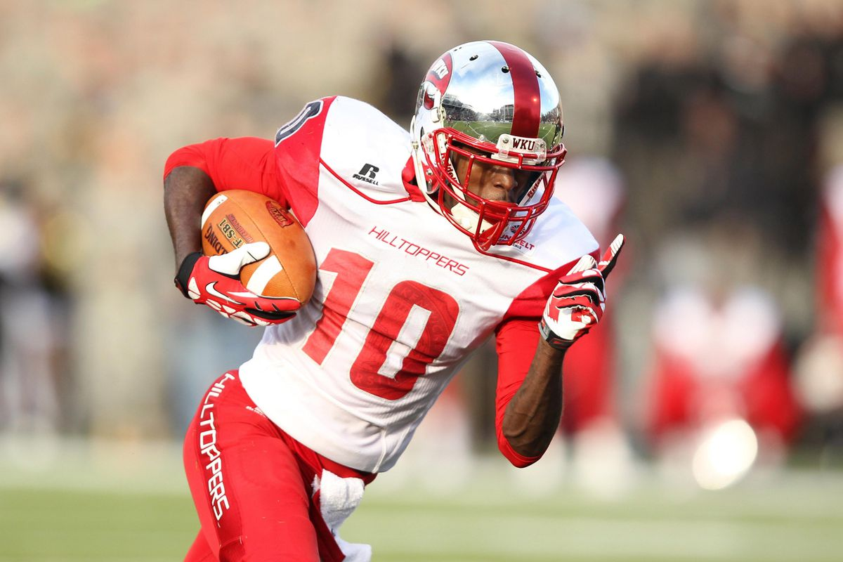 WKU WR Willie McNeal could be heading to Mobile this winter.