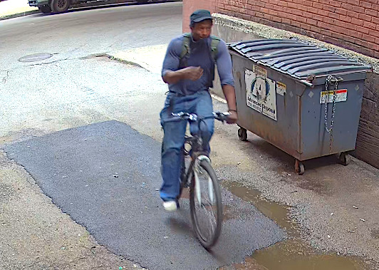 Chicago police have released surveillance video of a man wanted for questioning in connection with a knife attack on a recent DePaul University graduate July 18, 2019, in the 2300 block of North Halsted Street.