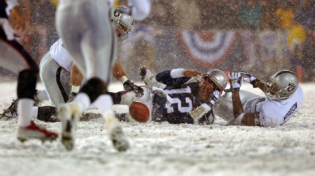 Oakland Raiders Vs. New England Patriots