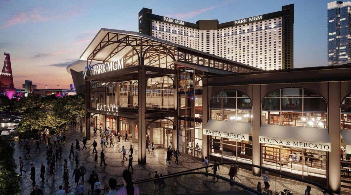 A rendering of Eataly