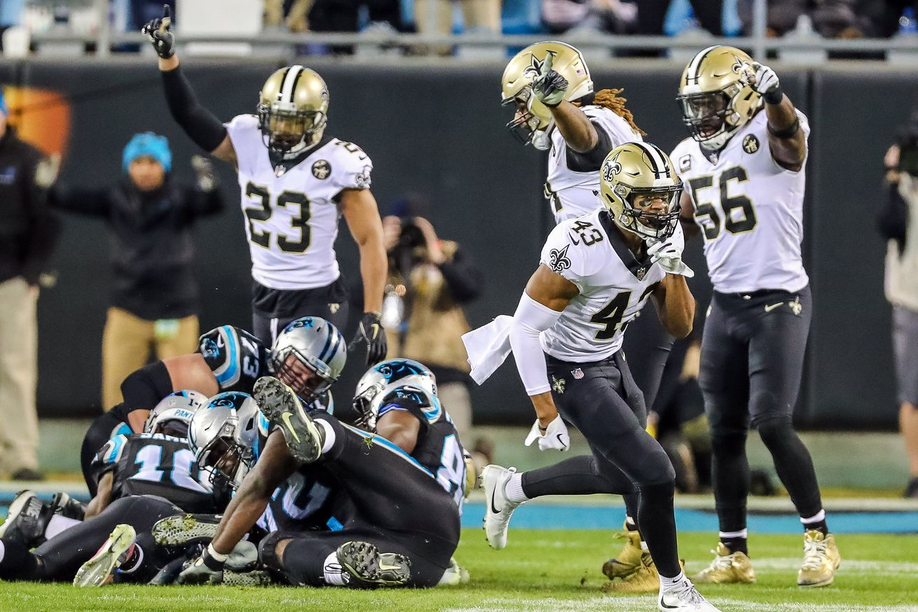 Saints vs Panthers: Week 15 quick observations