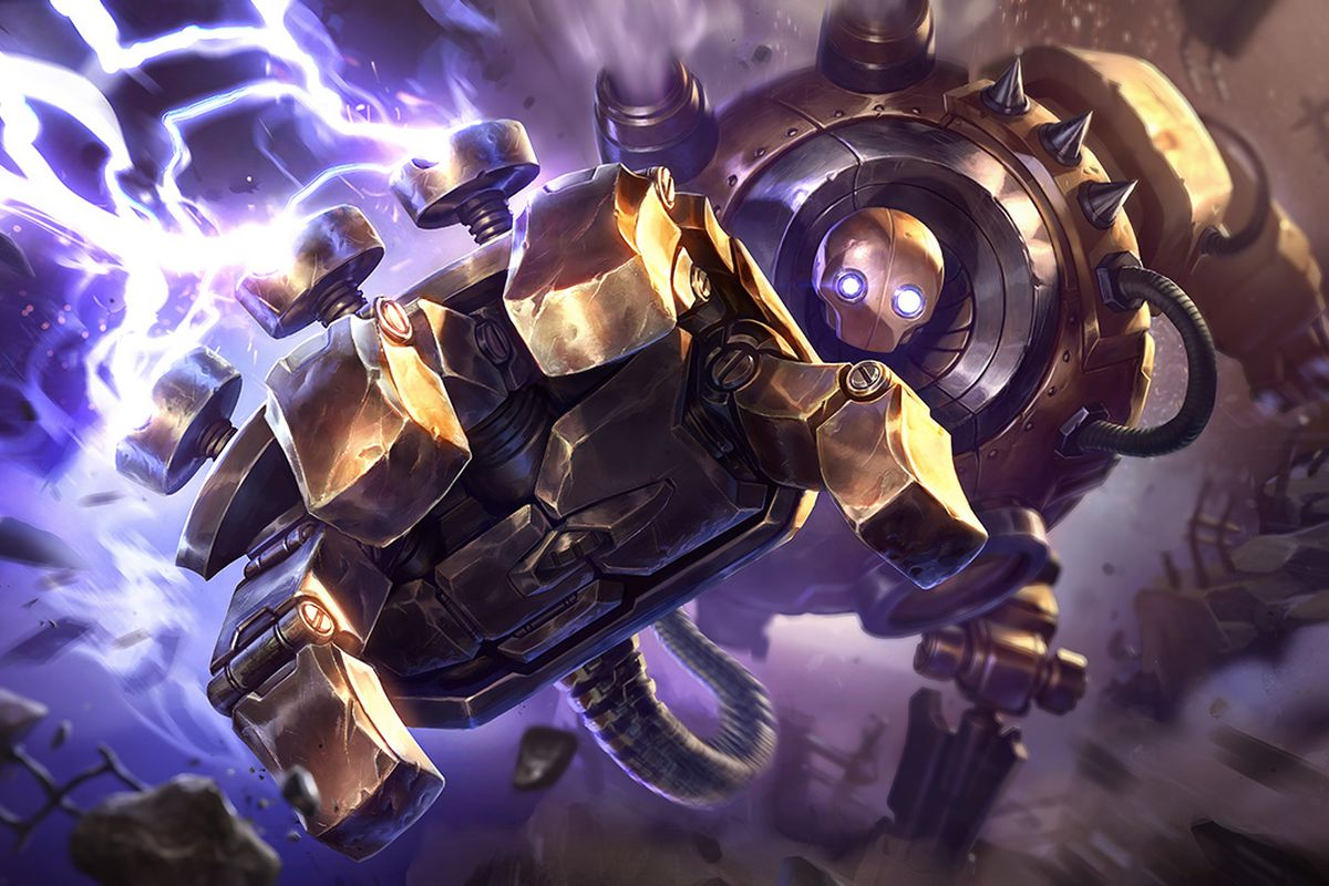 Blitzcrank passive and ultimate changes move to PBE - The