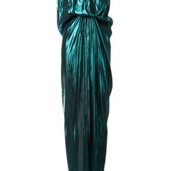 "Metallic gown, <a href=""http://www.farfetch.com/shopping/women/lanvin-metallic-gown-item-10653214.aspx"">Lanvin</a>, $3,225"