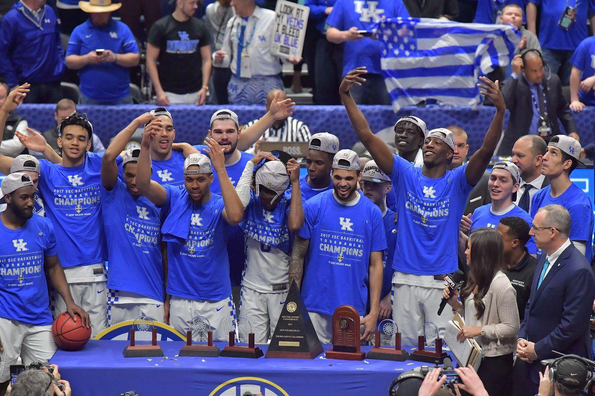 NCAA Basketball: SEC Tournament-Kentucky vs Arkansas