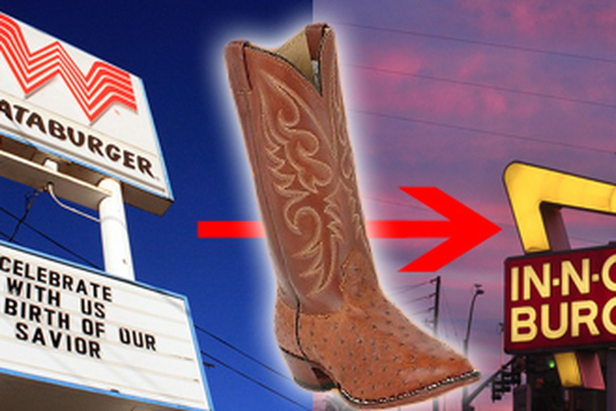The Larry Mahan Ostrich boots (a Texas tradition)