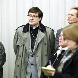 Interfaith Power and Light group tour  a silver LEED-certified LDS chapel in Farmington Wednesday, Feb. 8, 2012.