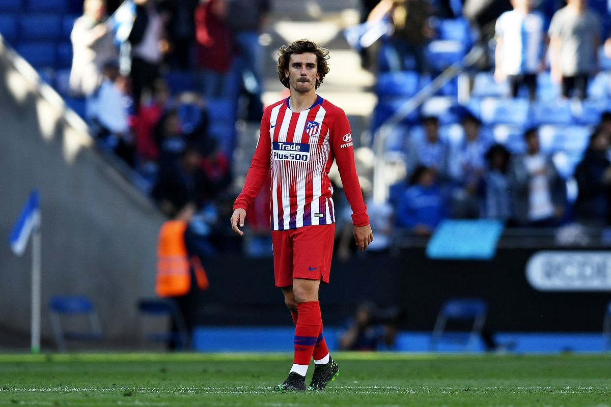 pretty nice 58a6e 51372 Three theories behind Atlético's unconventional Griezmann ...