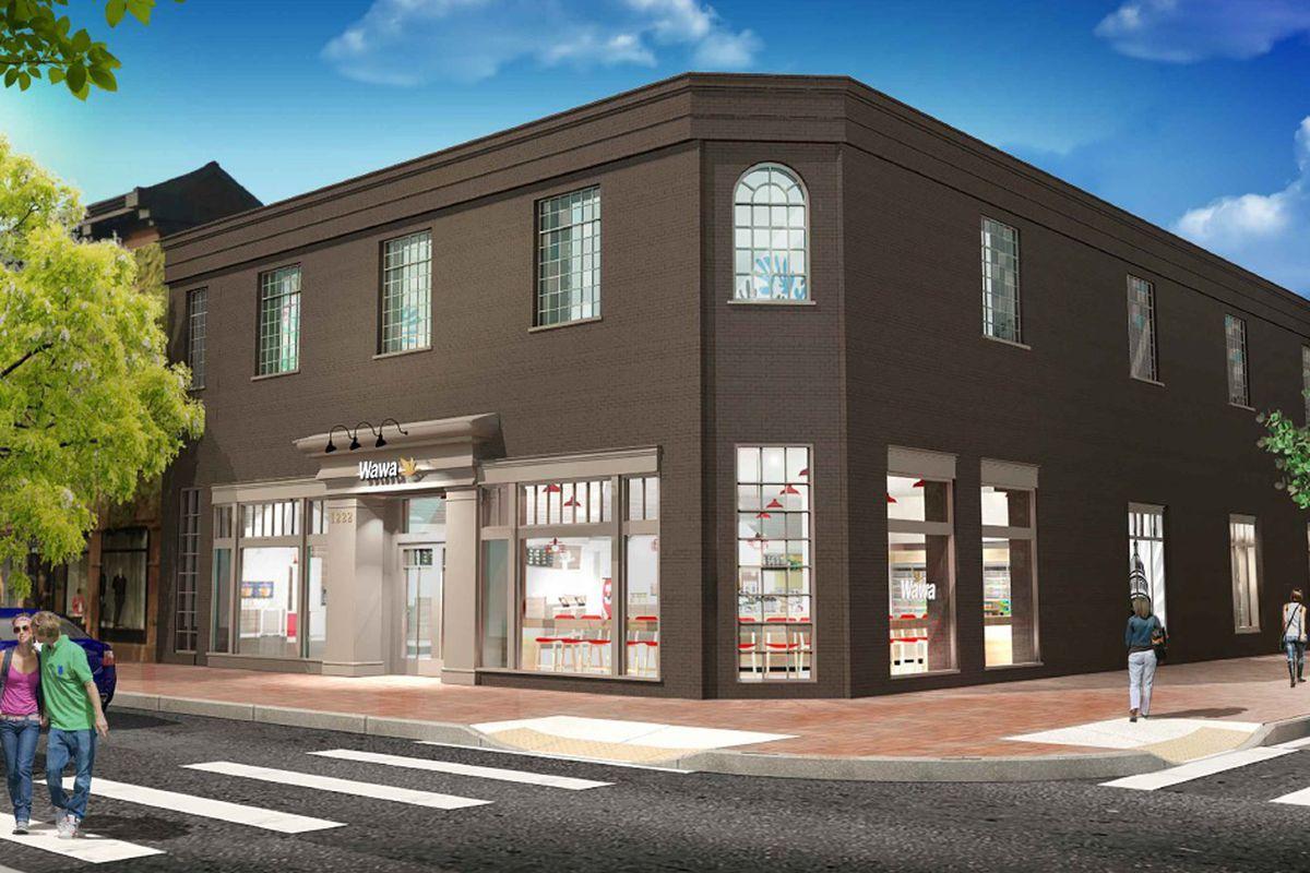 Georgetowns New Wawa Starts Serving Hoya Themed Lattes This Week