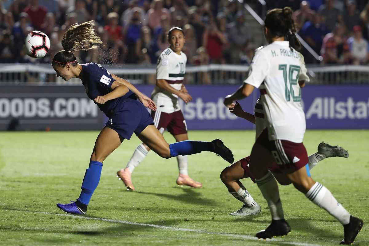 United States v Mexico: Group A - CONCACAF Women's Championship